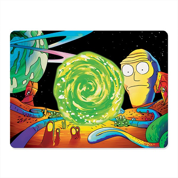 Mousepad Gamer Rick and Morty