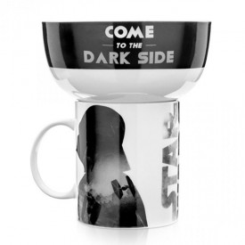 Caneca e Pote Star Wars Imperio Darth Vader