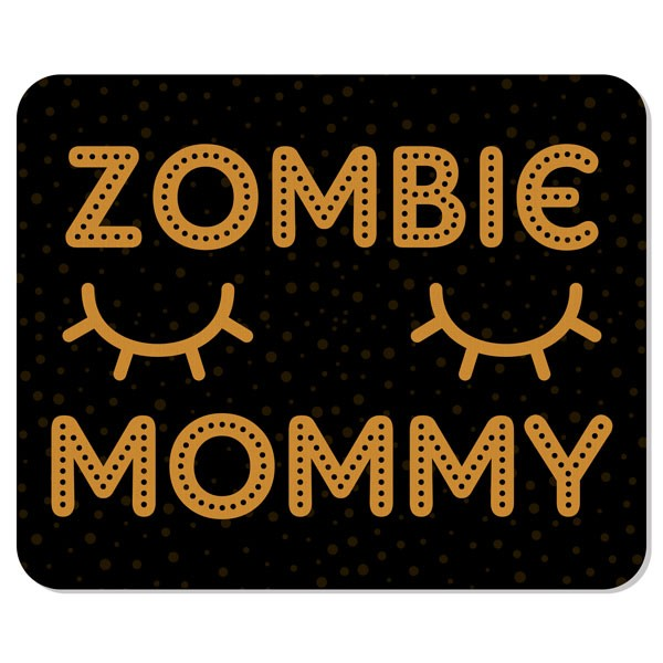 Mousepad Zombie Mommy