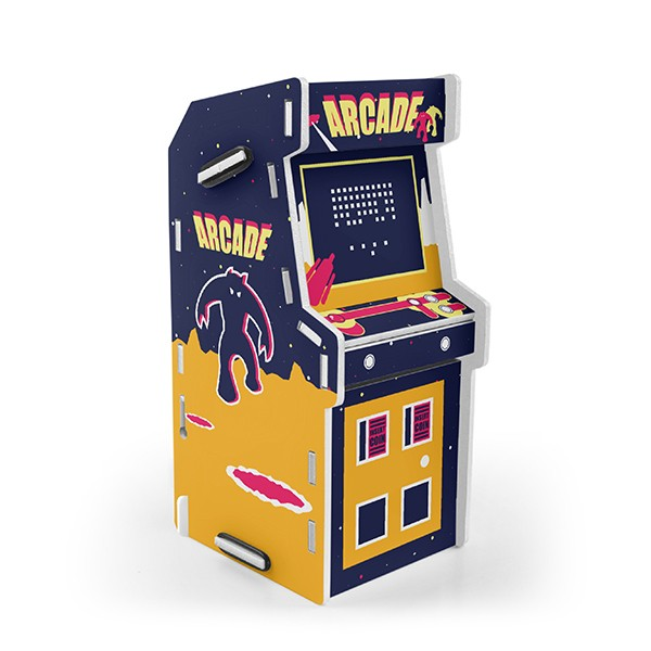 Cofre Arcade Invaders
