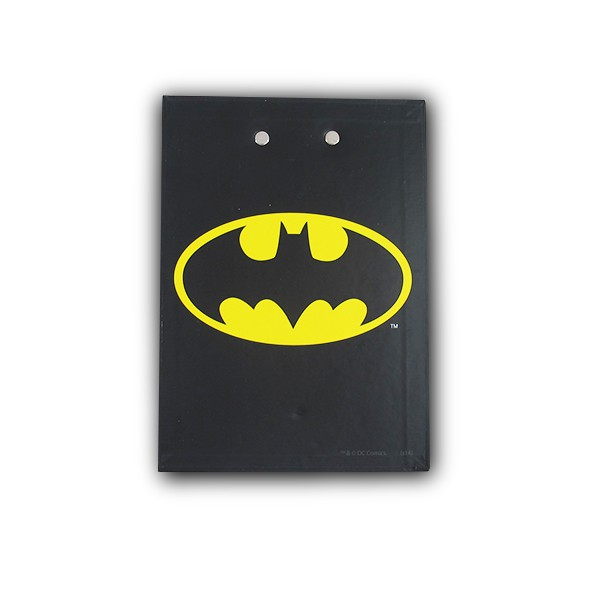 Notebook with Clipboard Batman Logo and Face