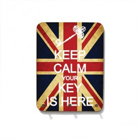 Porta Chaves Keep Calm Your Key Is Here