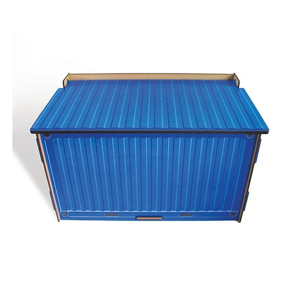 Chest Container Blue
