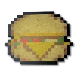 Pan rest Burger 8 bits
