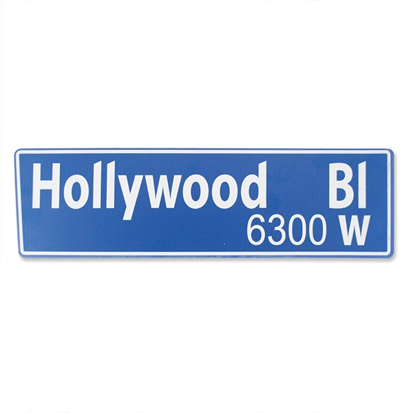 Placa Hollywood Boulevard
