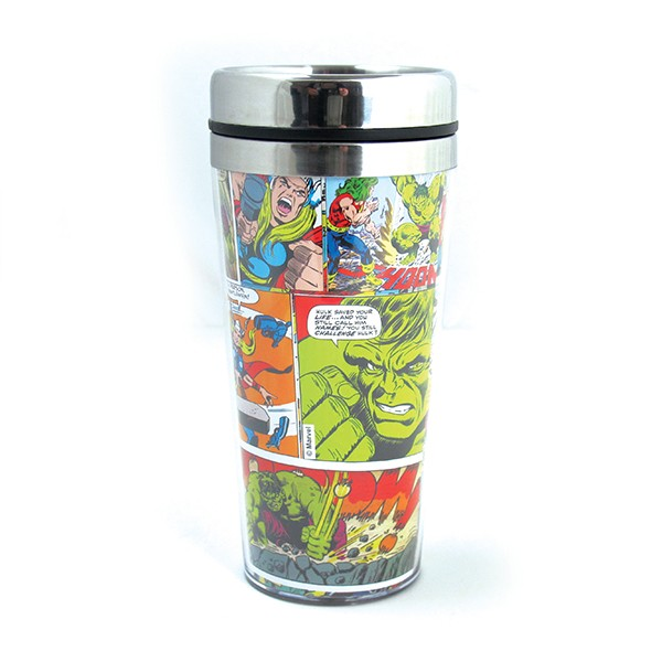 Glass Thermal HQ Marvel Colored