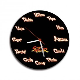 Red clock. Names Players