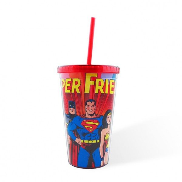 Plastic Cup with Tampa Super Friends