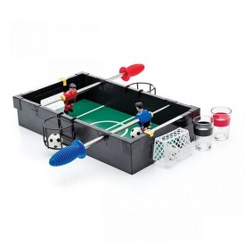 Game Mini Foosball with Drinks