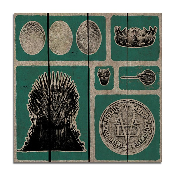 Quadro MDF Art of Thrones