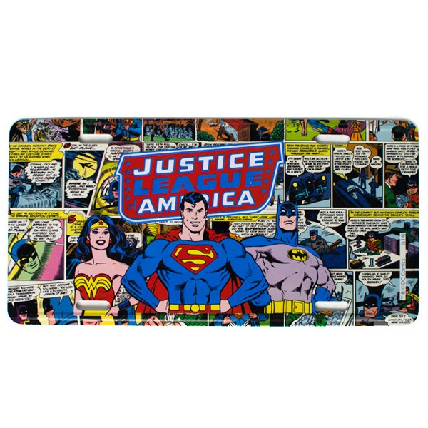 Wall plate for Justice League