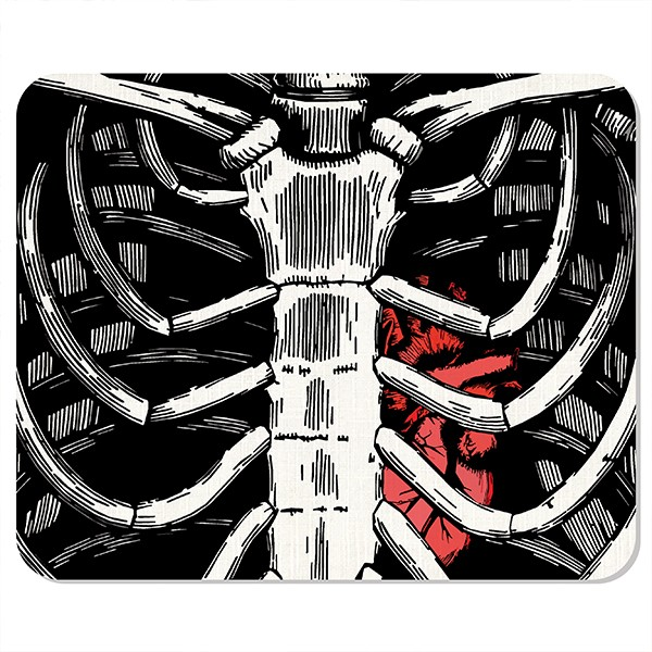 mousepad Skeleton