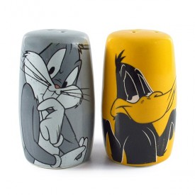 Salt and pepper Bugs and daffy