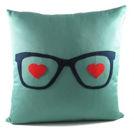 Pillow fond Glasses