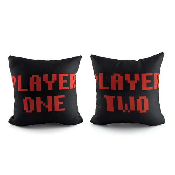 Kit Mini Cushions Player 1 and Player 2