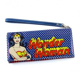 Wallet with handle Wonder Woman Stars Blue